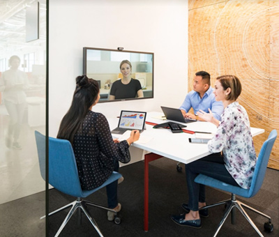 video conferencing system for enterprises