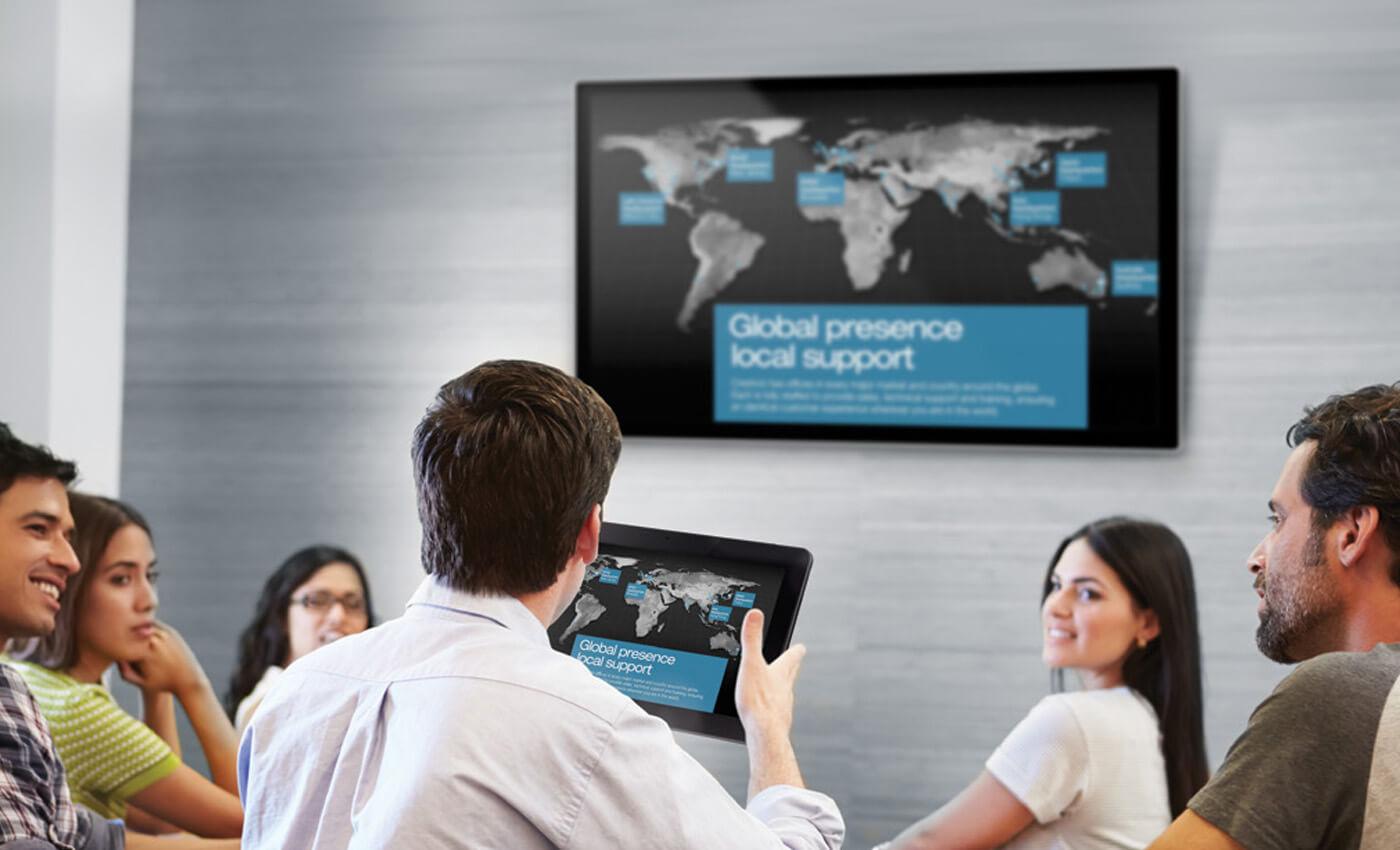 Wireless presentation device